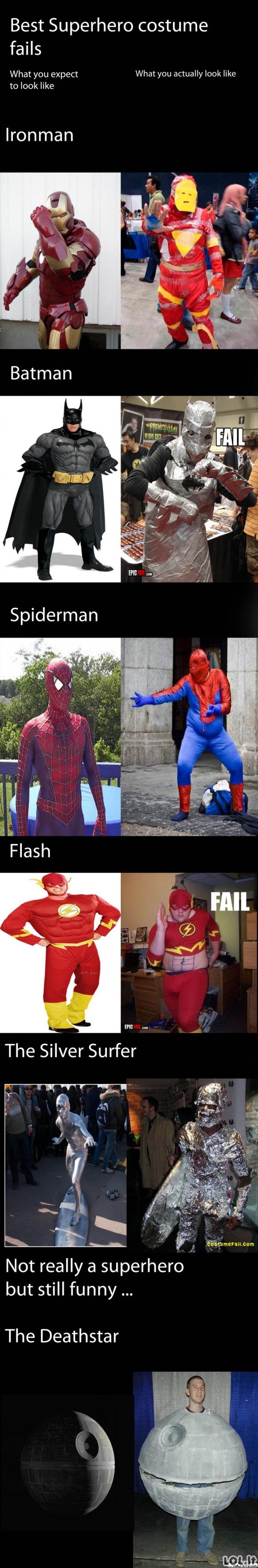 Superherojų kostiumai