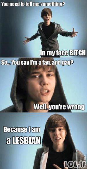 Tiesa apie Bieberį