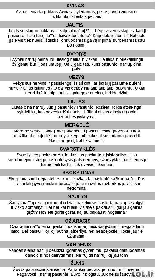 Dienos horoskopas