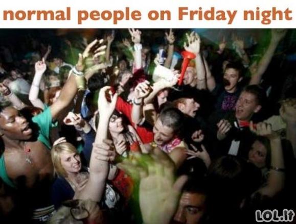 Normalūs žmonės ir aš