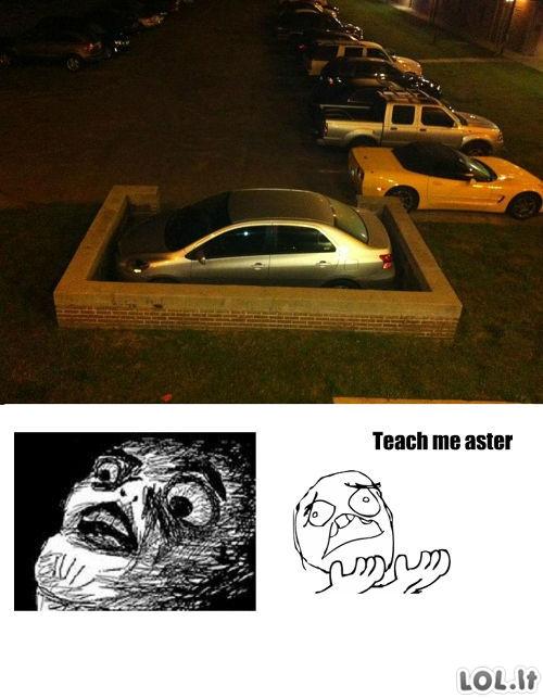 Parkingo viešpats