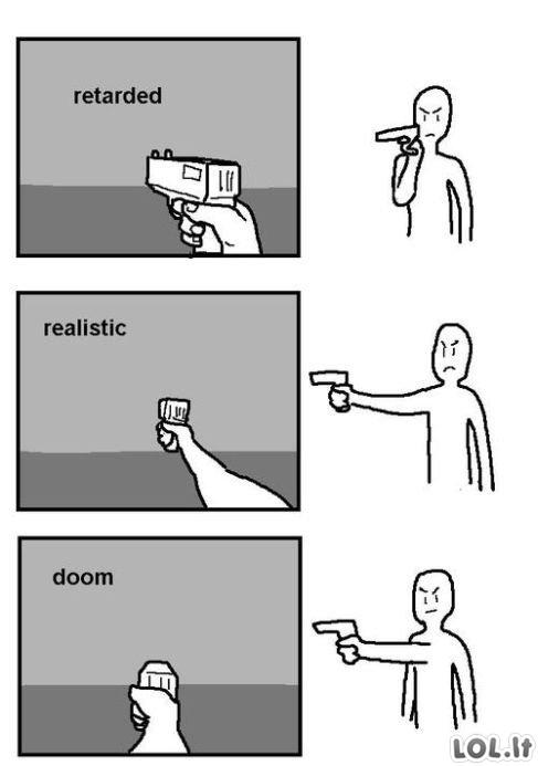 Pirmojo asmens šaudyklės