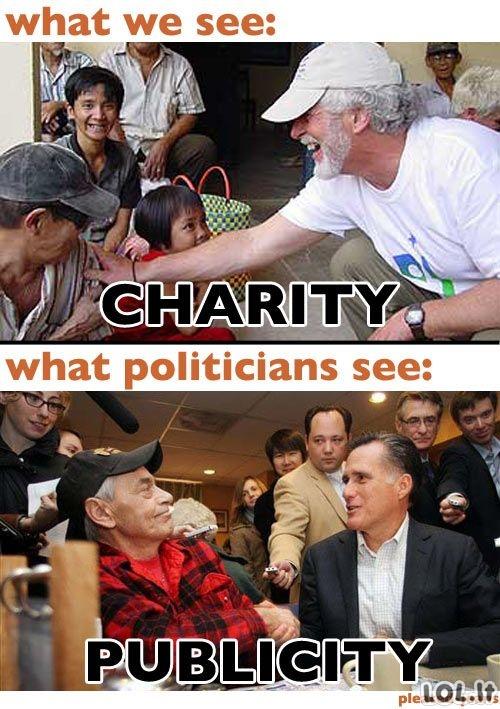Politikų požiūris