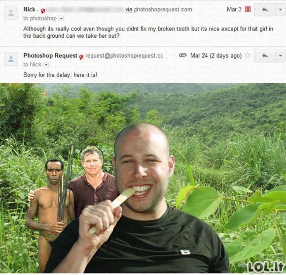 Photoshop trolis