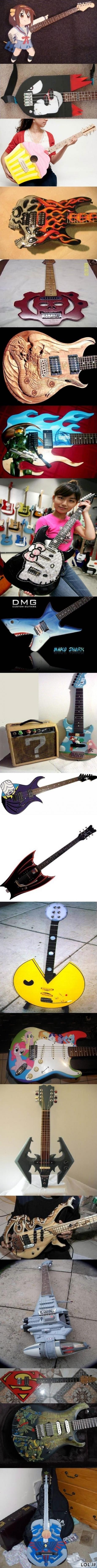 Geriausios gitaros