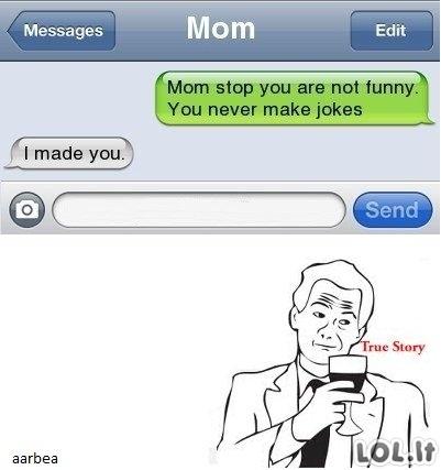 Mamos juokeliai