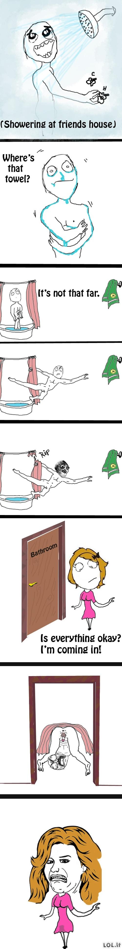 Dušas svečiuose