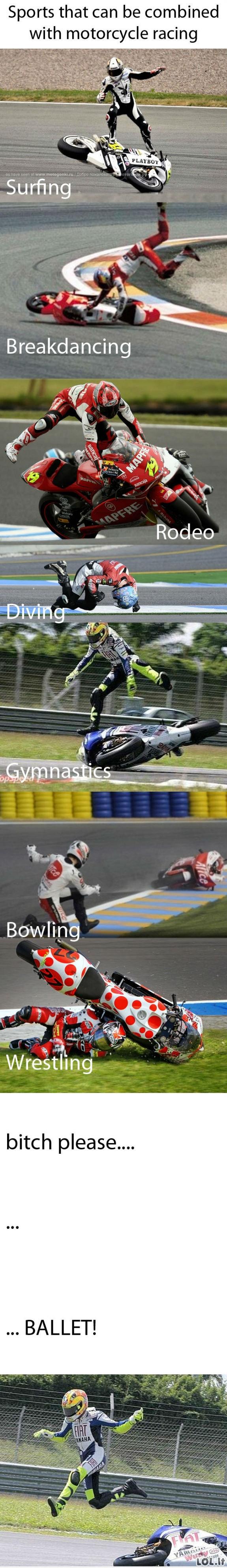 Motociklų sportai