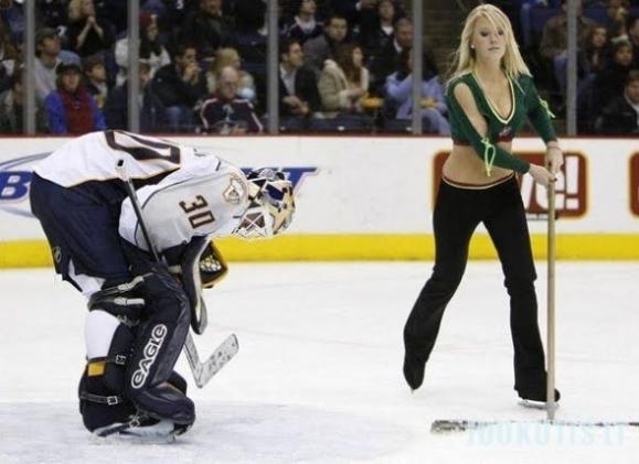 NHL gražuolės