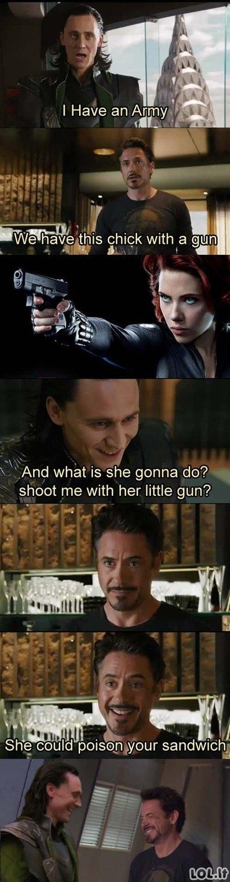 Pupa su šautuvu
