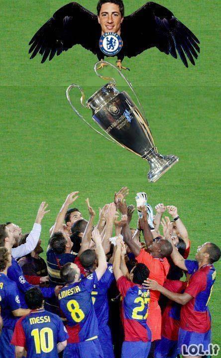 Barca-Chelsea mėmių Top-10