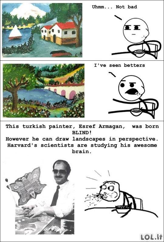 Aklas dailininkas