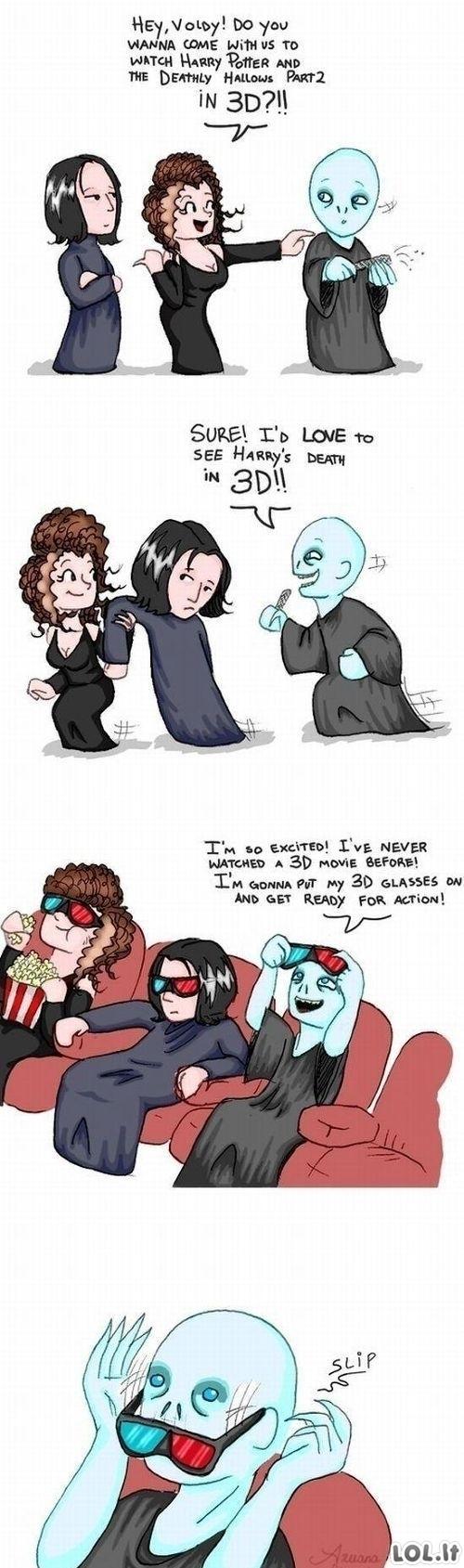 Voldemorto 3D įspūdžiai