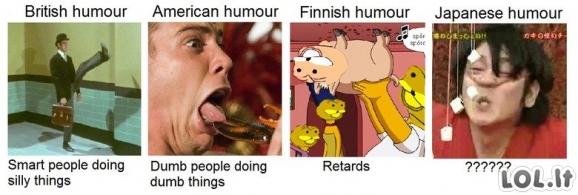 Humoro tipai