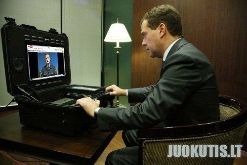 Medvedevo naujiena