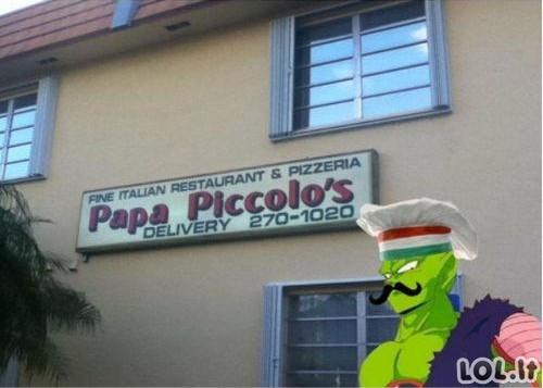 """""""Pikolas"""" pradėjo gaminti picas!"""