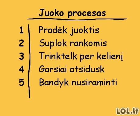 Juoko instrukcija