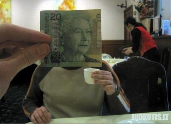 Pinigai pir veidai