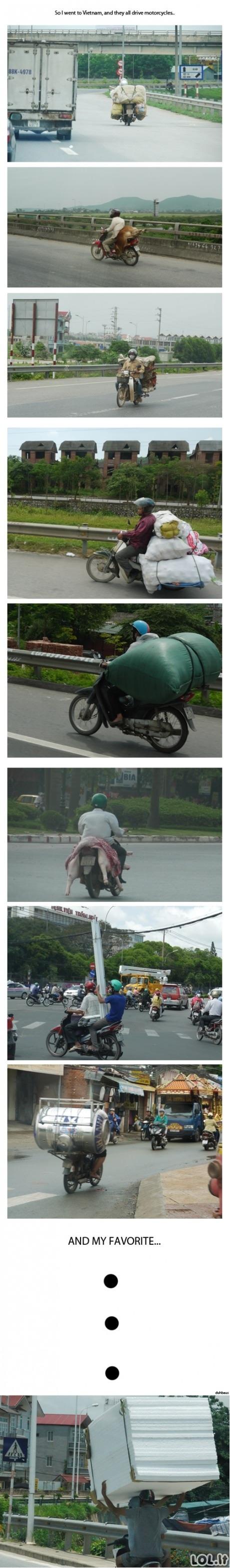 Vietnamietiškas transportavimas