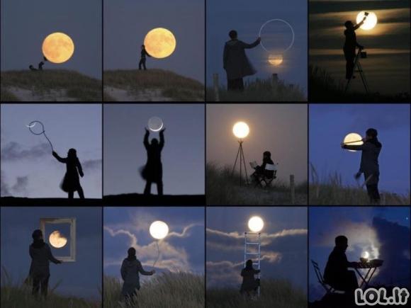 Žaidimai su mėnuliu
