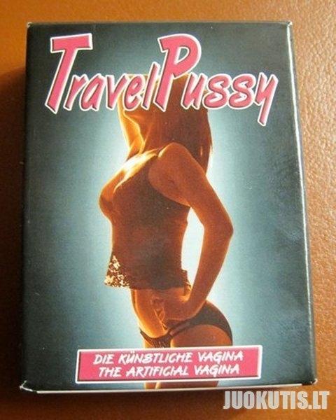 Travel pussy- naujovė vyrams