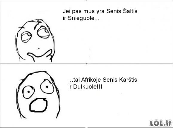 Afrikiečių gyvenimas