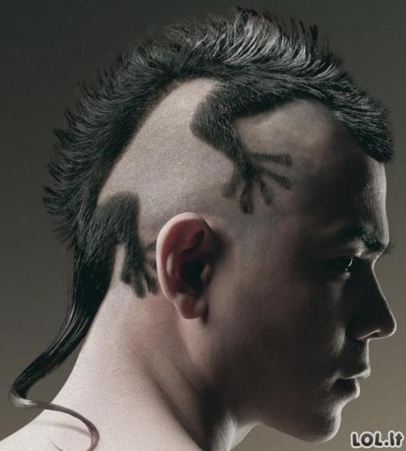 Epinė vyro šukuosena