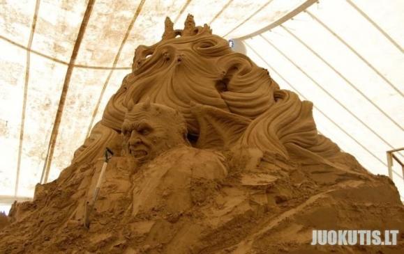Smėlio skulptūra