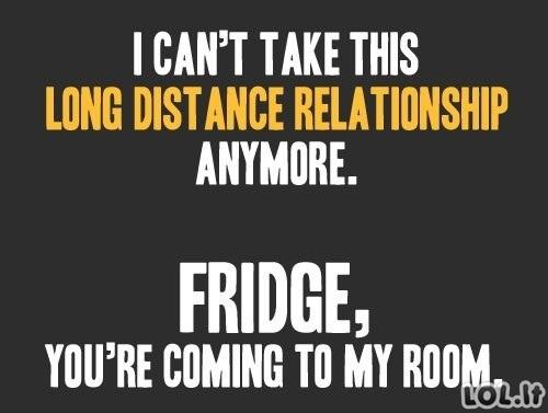 Atstumas trukdo mylėti!