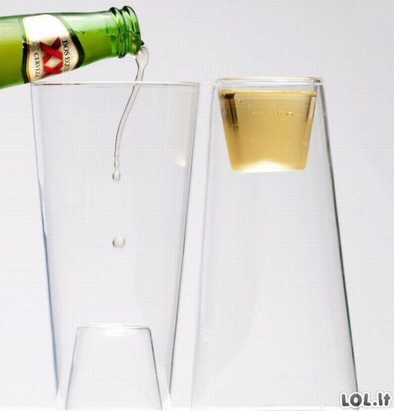 Išgerk stikliuką, parodyk stiklinę