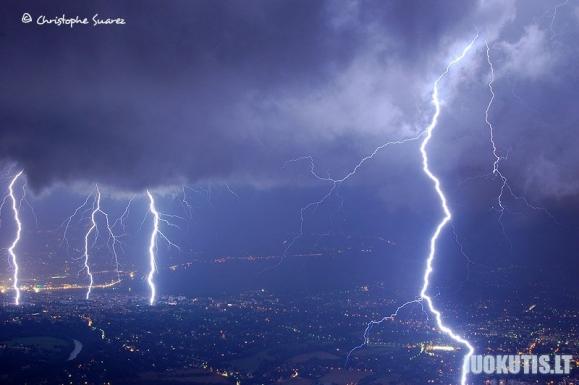 Truputį gražios gamtos - žaibai