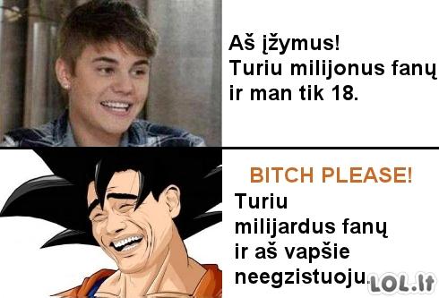 Songokas VS Bieberis