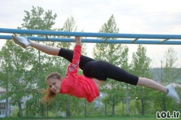 Sportinės merginos (34 foto)