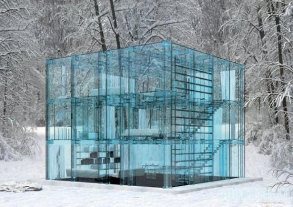 Stiklinis namas