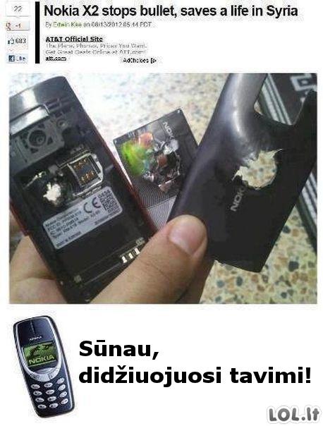 Nokia - protecting people