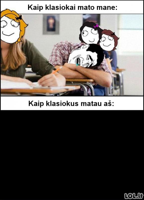 Iš mokyklos gyvenimo...