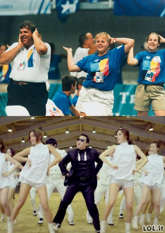Keičiasi laikai, keičiasi ir šokiai!