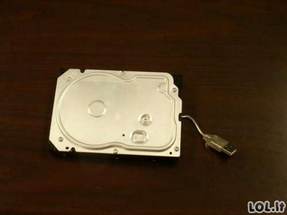 Pasidaryk pats - išorinis kietasis diskas