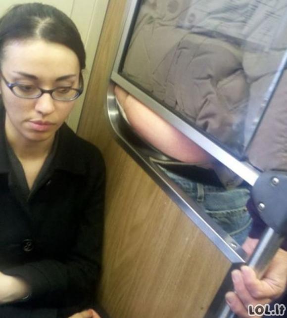 Ką galima pamatyti viešajame transporte