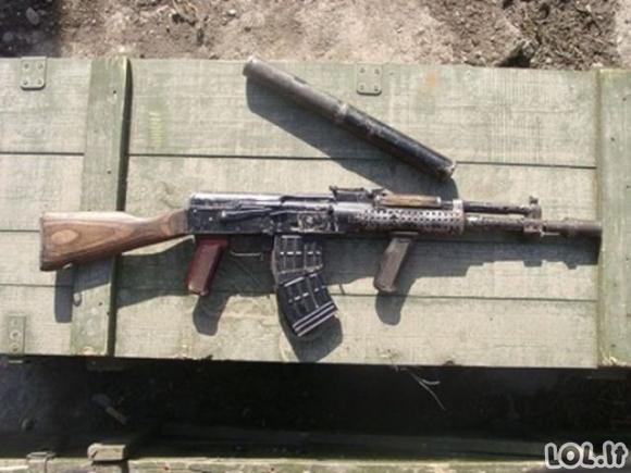 Savadarbiai ginklai