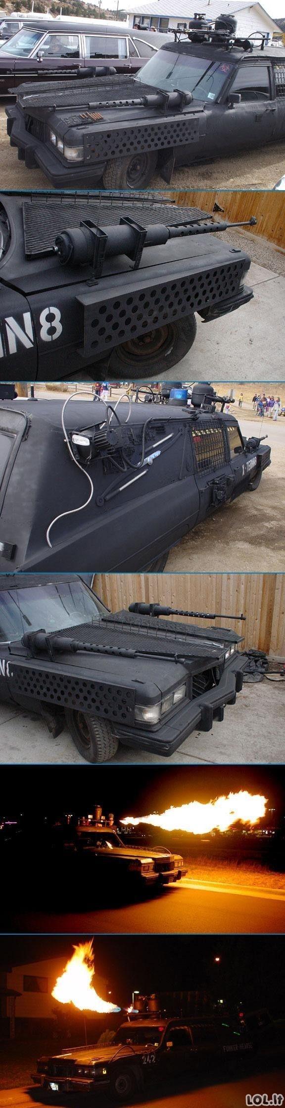 Chucko Norriso mašina