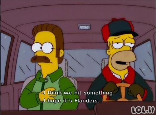 Houmeris Simpsonas kaip visada savo stiliuje