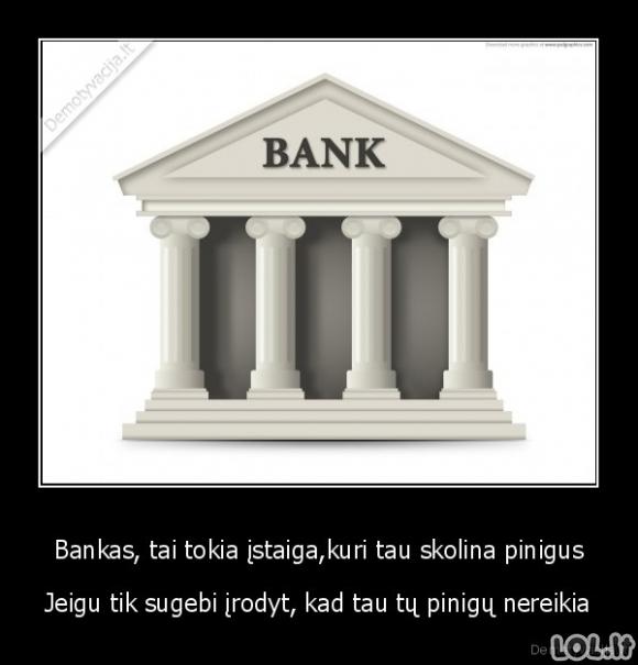 Kaip dirba bankai