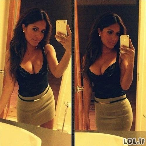 Merginos ir veidrodžiai