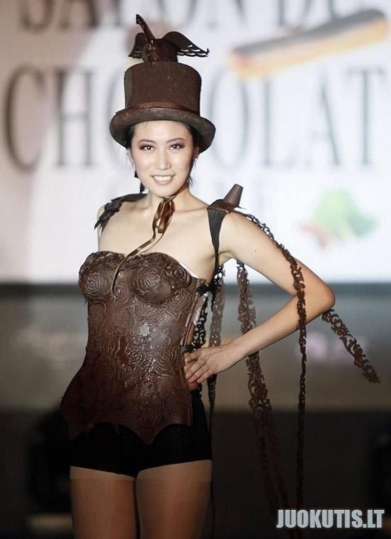 Šokoladiniai drabužiai