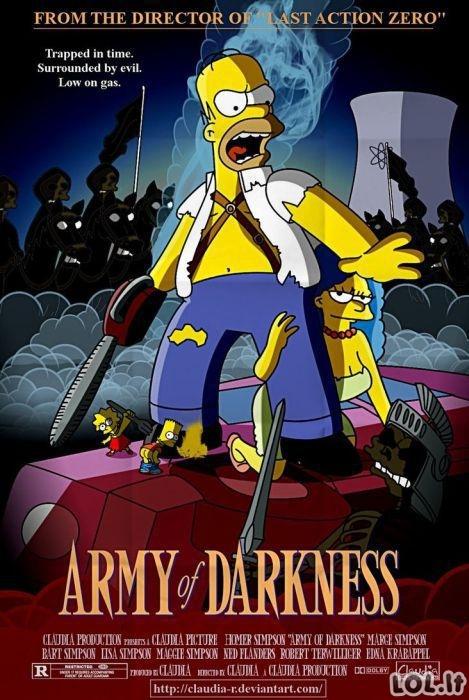 Dar nematyti Simpsonų filmai