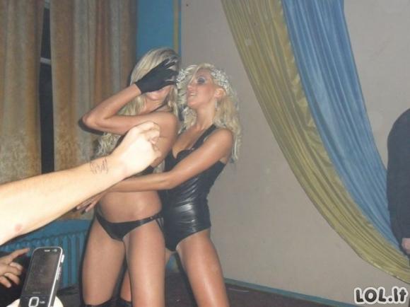 Striptizas Ukrainos mokykloje