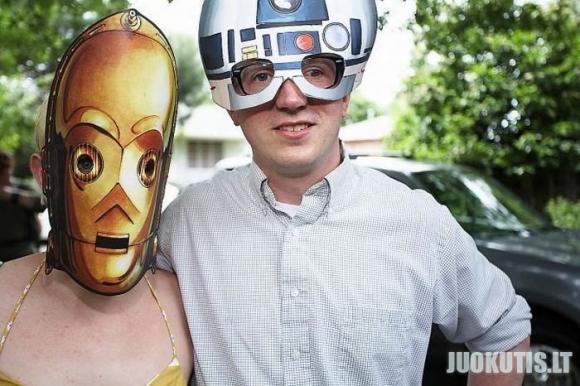 Star wars sirgalių vestuvės