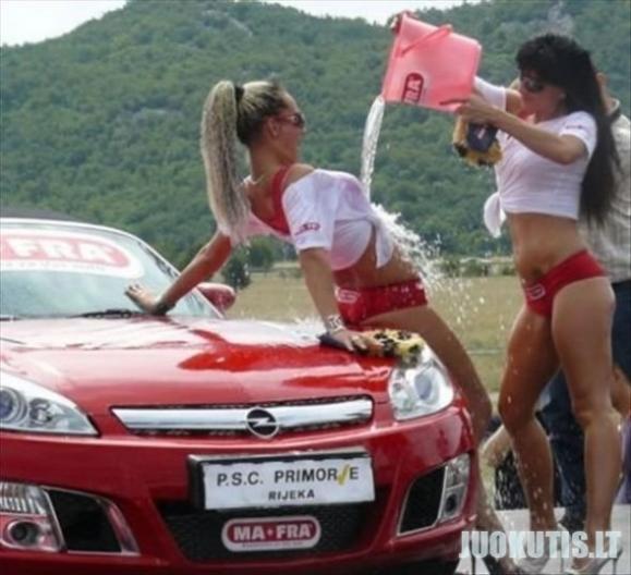 Automobilių blizgintojos