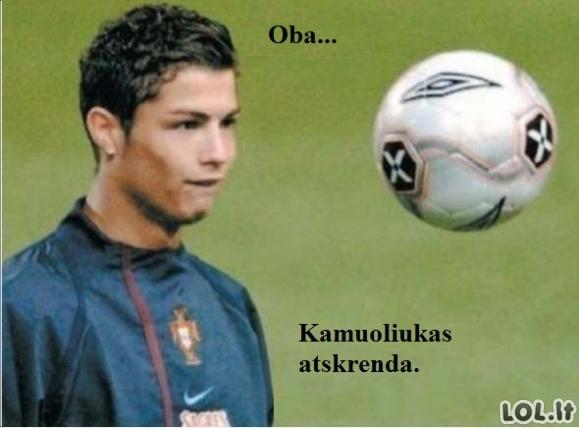 Superfutbolininkas Ronaldo